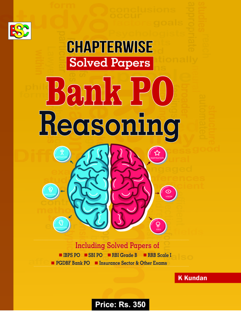 CHAPTER WISE SOLVED PAPER BANK PO REASONING