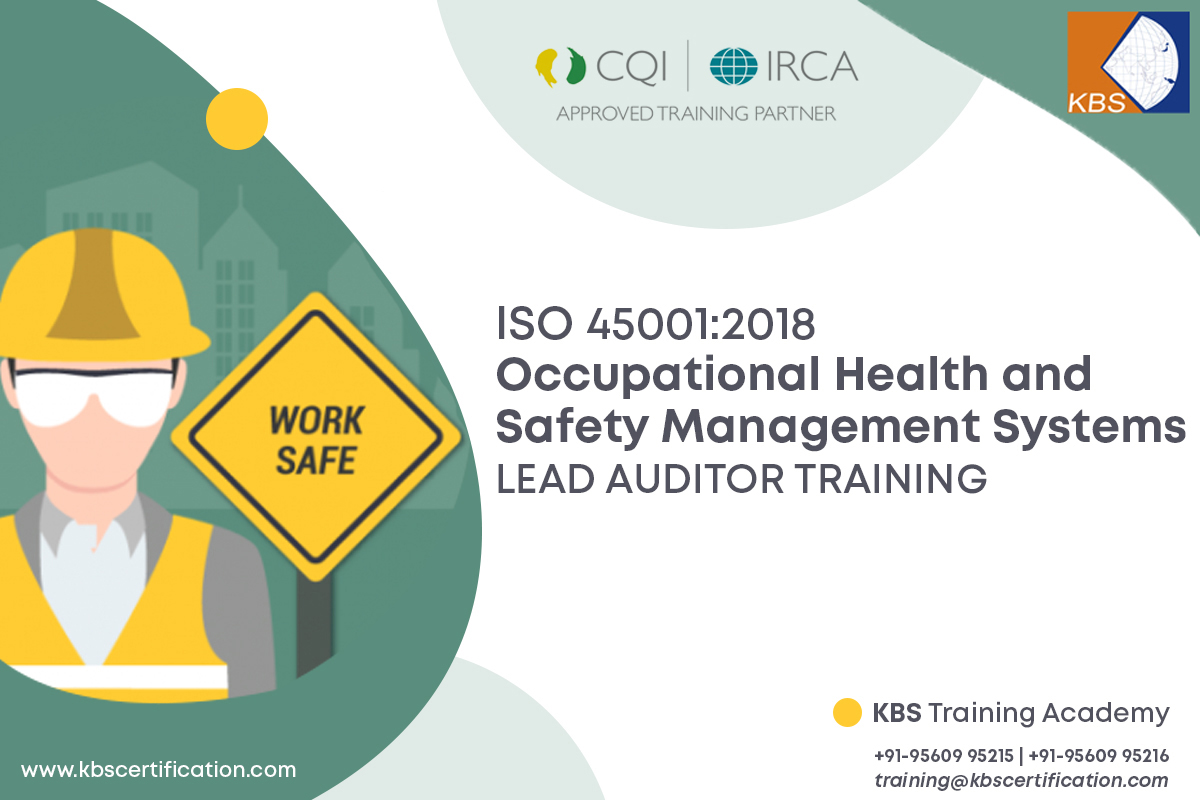 ISO 45001:2018 OHSMS LEAD AUDITOR TRAINING (13 NOV - 11 DEC 2020, FRIDAY BATCH)