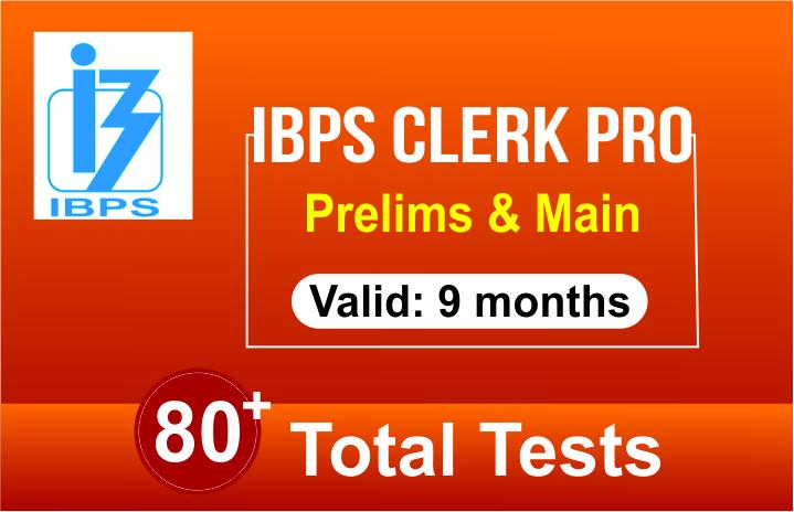 IBPS CLERK PRO