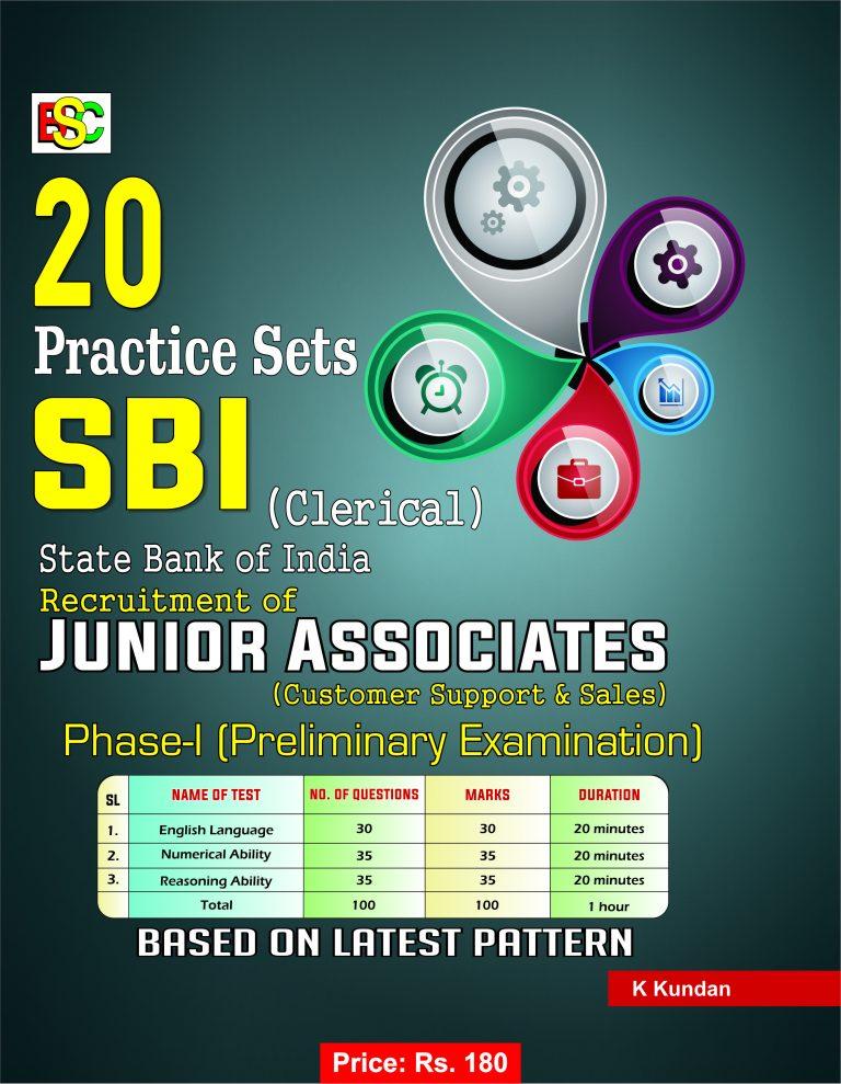 20 PRACTICE SETS SBI (CLERICAL) PHASE -I ENGLISH