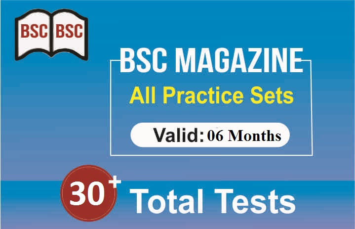 6 MONTHS PRACTICE TEST OF MAGAZINE