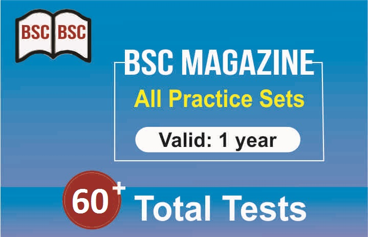1 YEAR PRACTICE TEST OF MAGAZINE