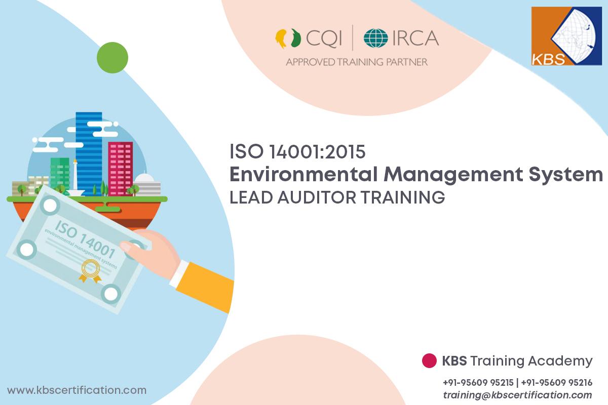ISO 14001:2015 EMS LEAD AUDITOR TRAINING / REGISTRATION NO:TRG-OHLA02722 / 23 OCT - 20 NOV 2020