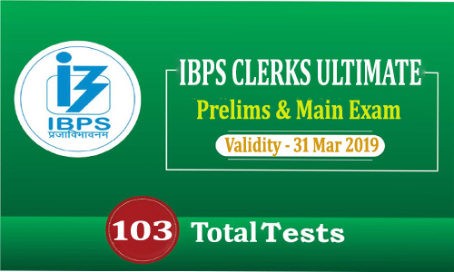 IBPS CLERKS ULTIMATE