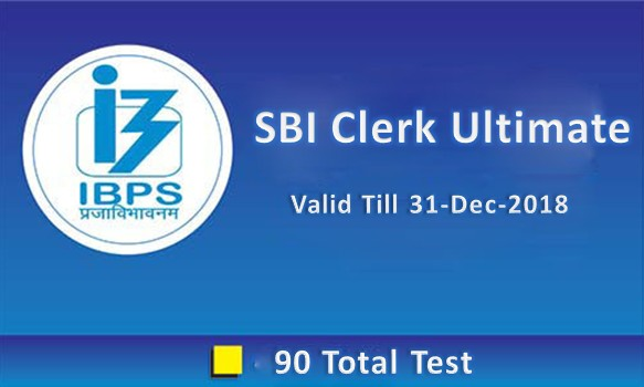 SBI CLERK ULTIMATE