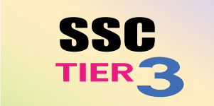 SSC TIER-3 (ENGLISH & HINDI)