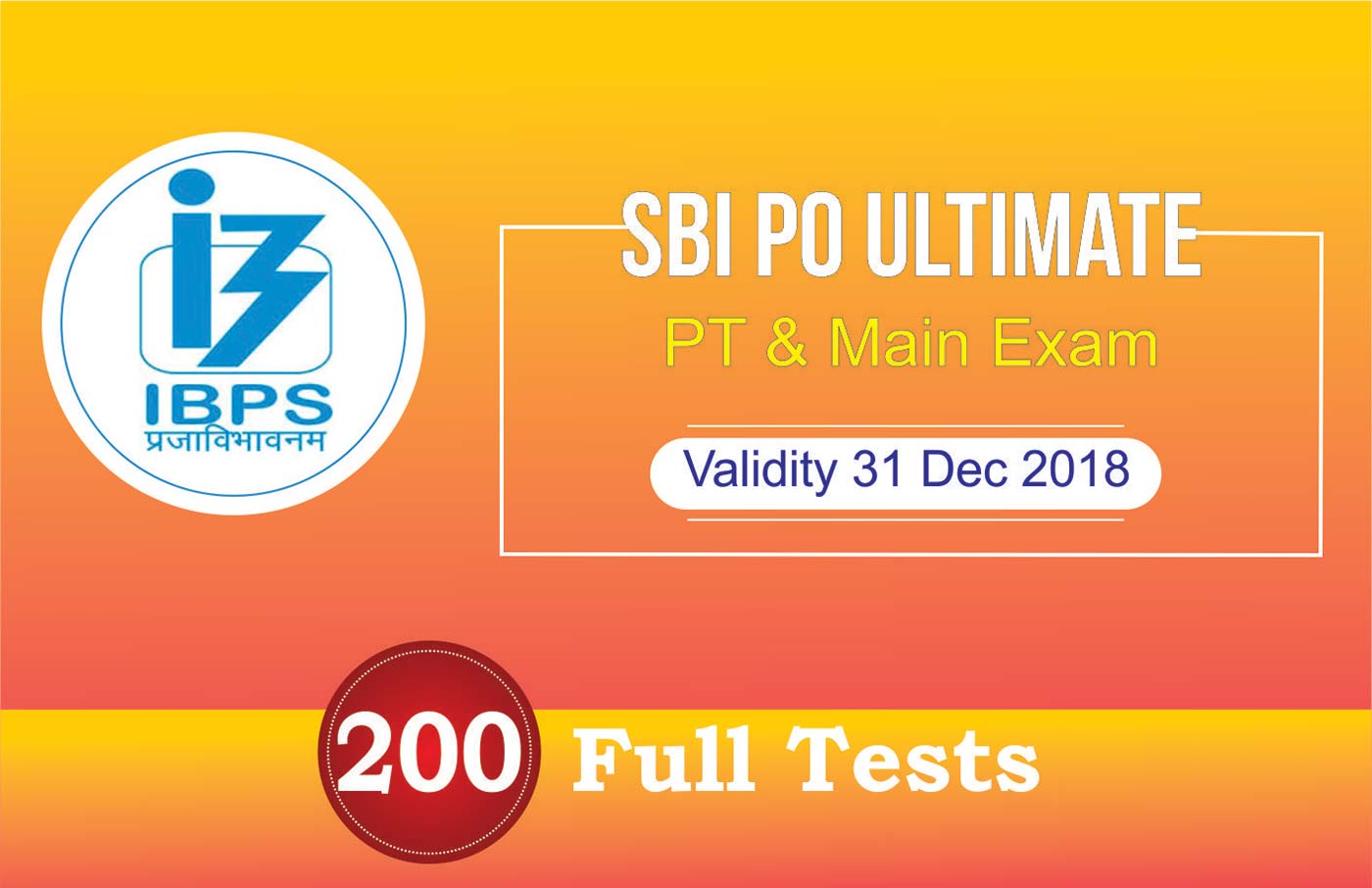 SBI PO ULTIMATE