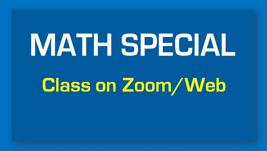MATH SPECIAL LIVE