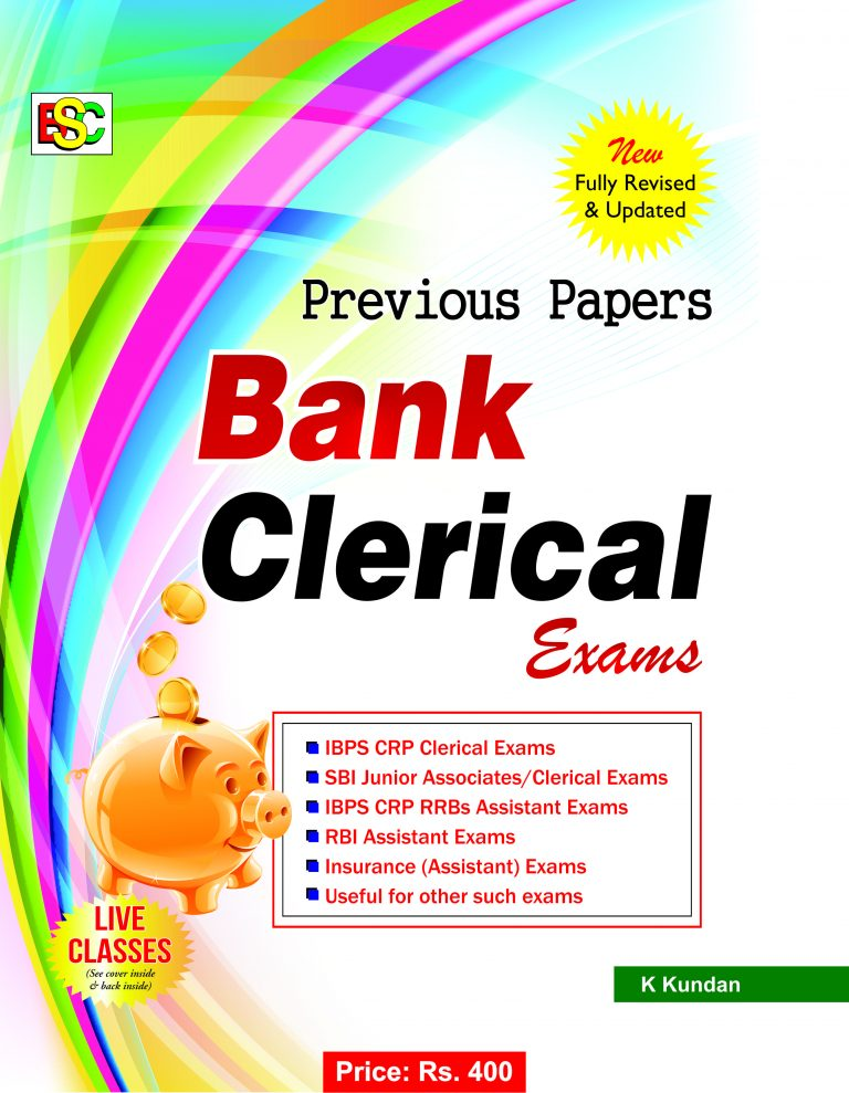 PREVIOUS PAPERS IBPS (CWE) BANK CLERK EXAM (ENGLISH)