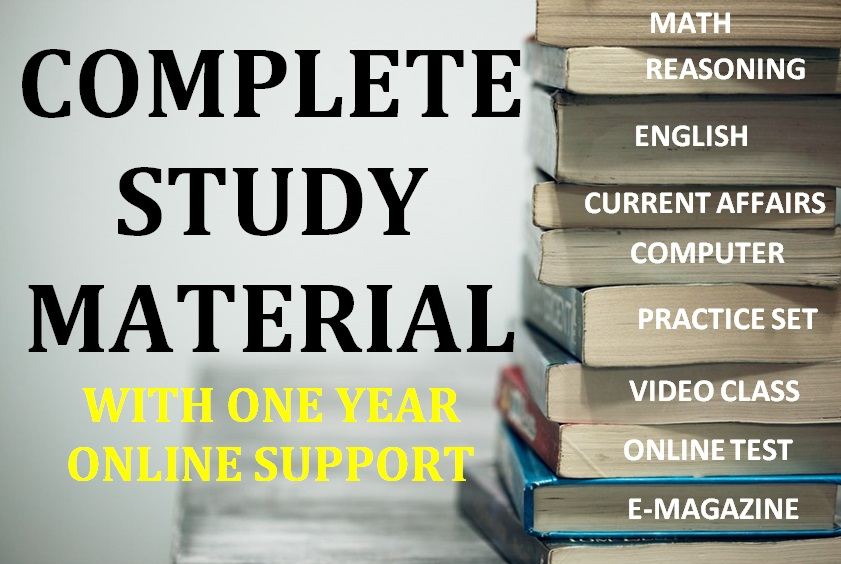 COMPLETE STUDY MATERIAL FOR BANKING/INSURANCE EXAMS