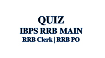 RRB MAIN QUIZ